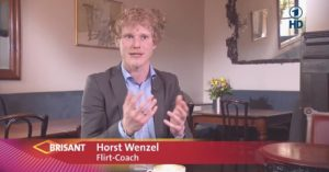 Flirting Expert Horst Wenzel is giving dating seminars